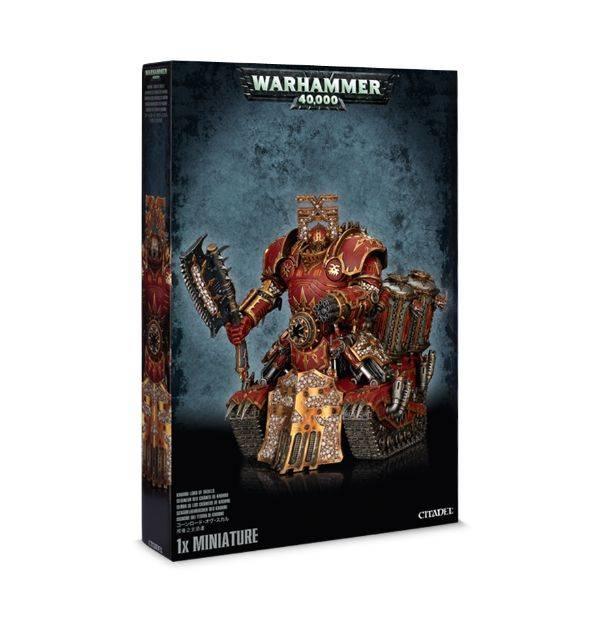 Games Workshop Chaos Space Marines Khorne Lord of Skulls