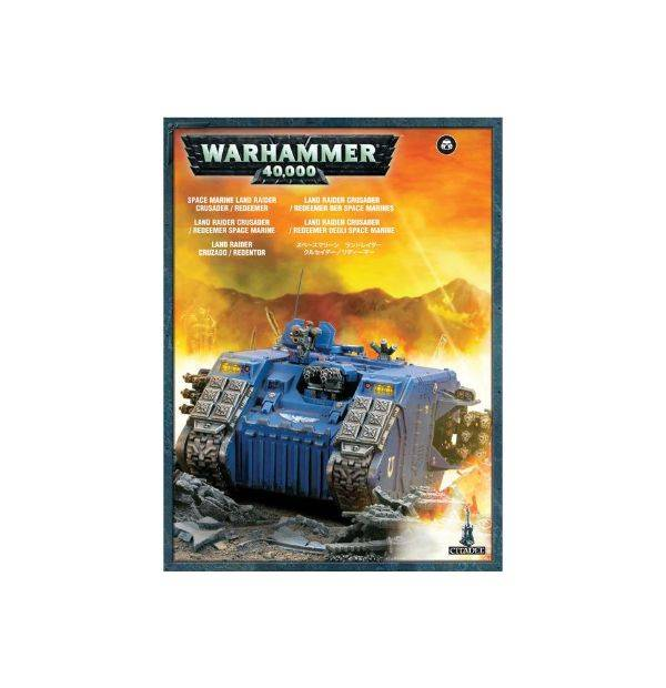 Games Workshop Land Raider Crusader