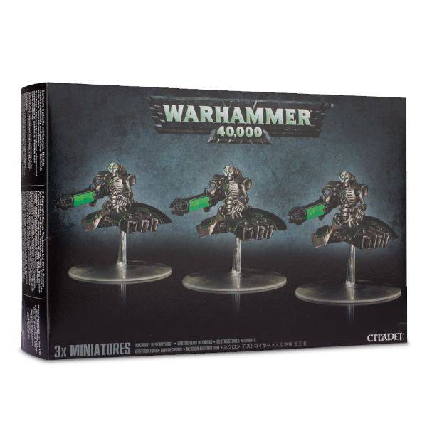 Games Workshop Necron Destroyer Squadron