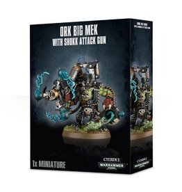 Games Workshop Ork Big Mek with Shokk Attack Gun