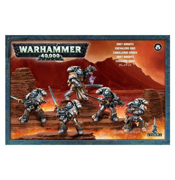 Games Workshop Grey Knights Purifiers