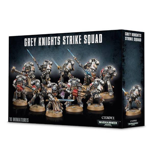 Games Workshop Grey Knights - Strike Squad (10 models)