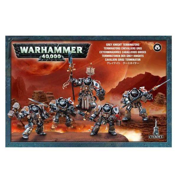 Games Workshop Grey Knights Terminators / Paladins