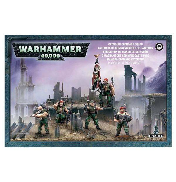 Games Workshop Catachan Command Squad