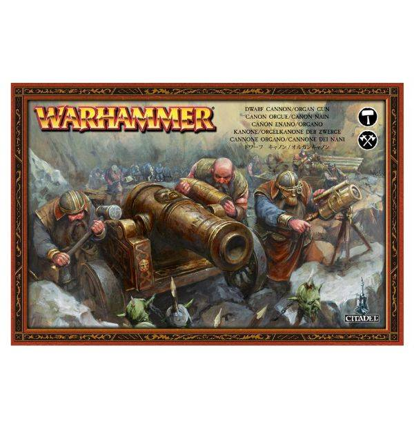 Games Workshop Cannon