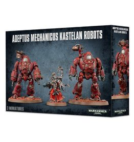 Games Workshop Adeptus Mechanicus Kastelan Robots