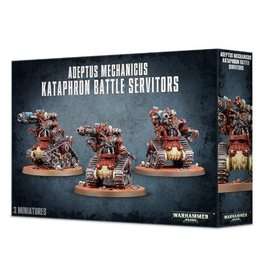 Games Workshop Adeptus Mechanicus Kataphron Battle Servitors - Breachers