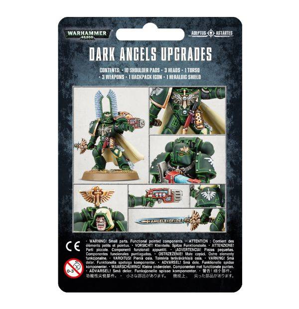 Games Workshop Dark Angels Upgrade Pack