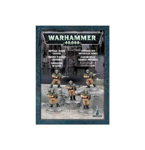 Games Workshop Cadians (5 models)