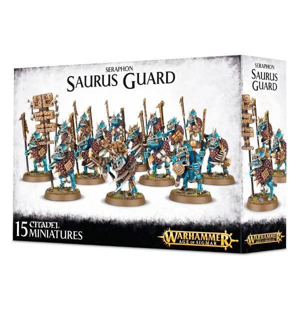 Games Workshop Saurus Guard