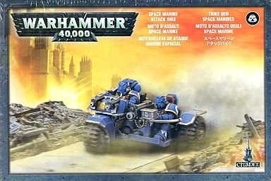 Games Workshop Space Marine Attack Bike