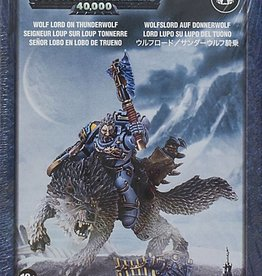 Games Workshop Space Wolves Wolf Lord on Thunderwolf