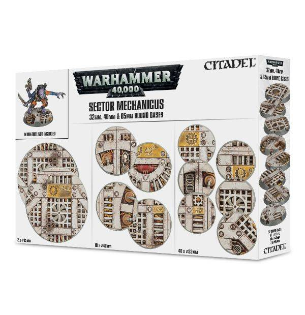 Games Workshop Sector Mechanicus Industrial Bases