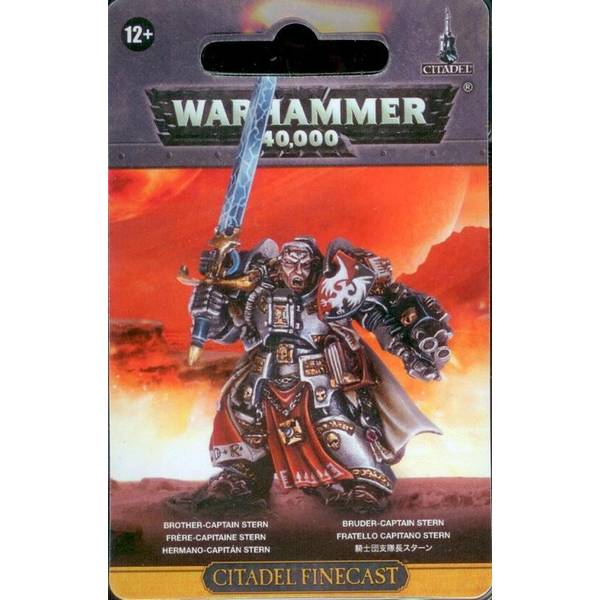 Games Workshop Grey Knights - Brother Captain Stern