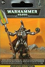 Games Workshop Necron Lord with Resurrection Orb