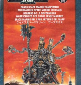 Games Workshop Chaos Space Marines Warpsmith