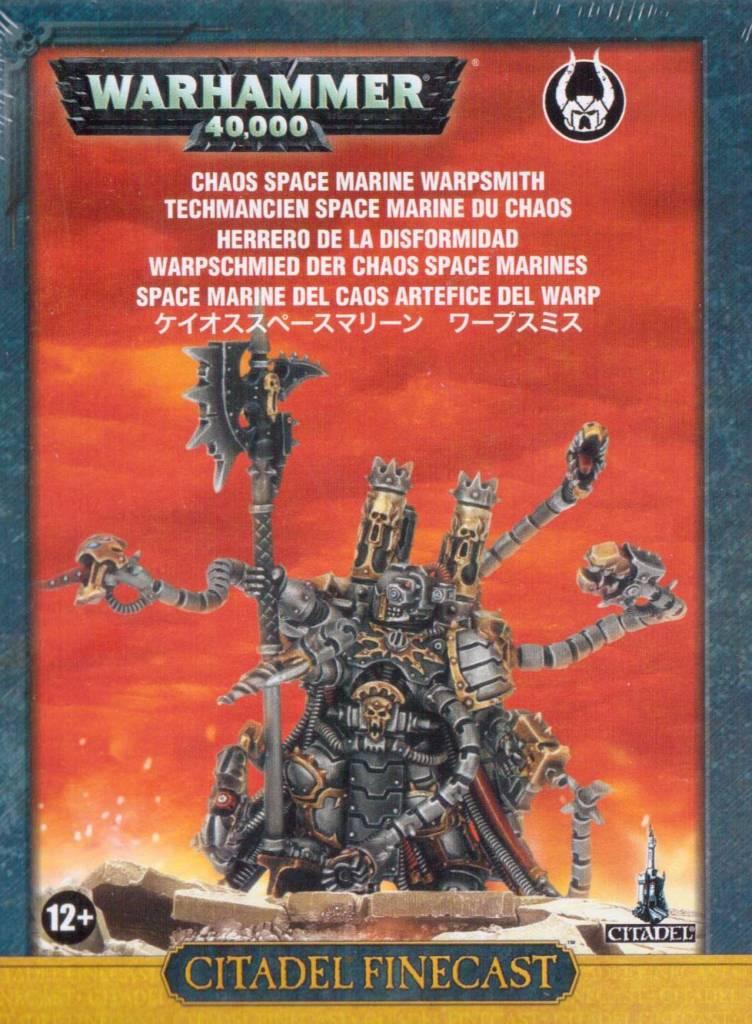 Games Workshop Chaos Space Marines Warpsmith