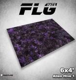 Frontline Gaming FLG Mats: Alien Hive 6x4'