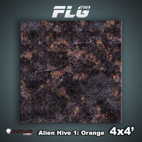 Frontline Gaming FLG Mats: Alien Hive 4x4'