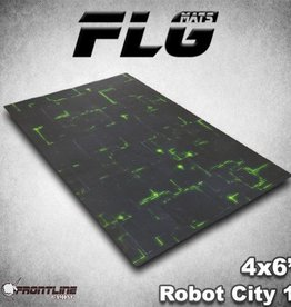 Frontline Gaming FLG Mats: Robot City 6x4