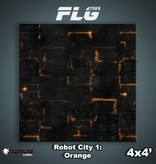 Frontline Gaming FLG Mats: Robot City 1