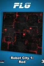 Frontline Gaming Copy of FLG Mats: Robot City 3x3