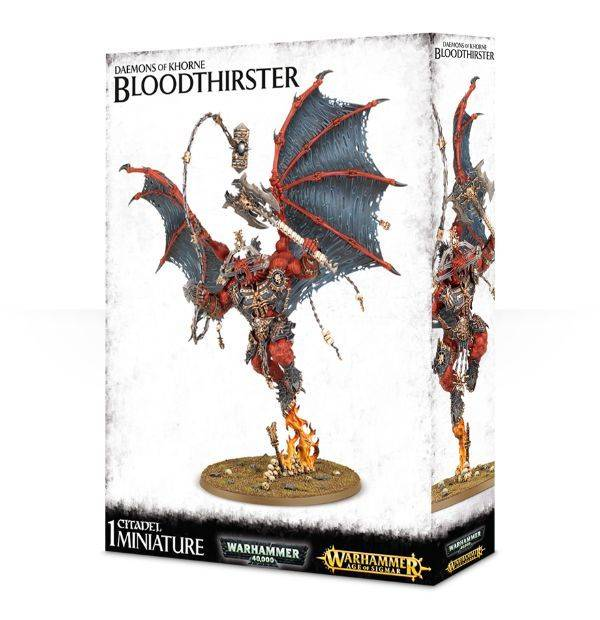 Games Workshop Daemons Of Khorne Bloodthirster