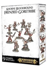 Games Workshop Khorne Bloodbound Frenzied Wartribe