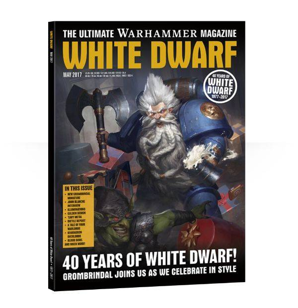 Games Workshop White Dwarf May 2017