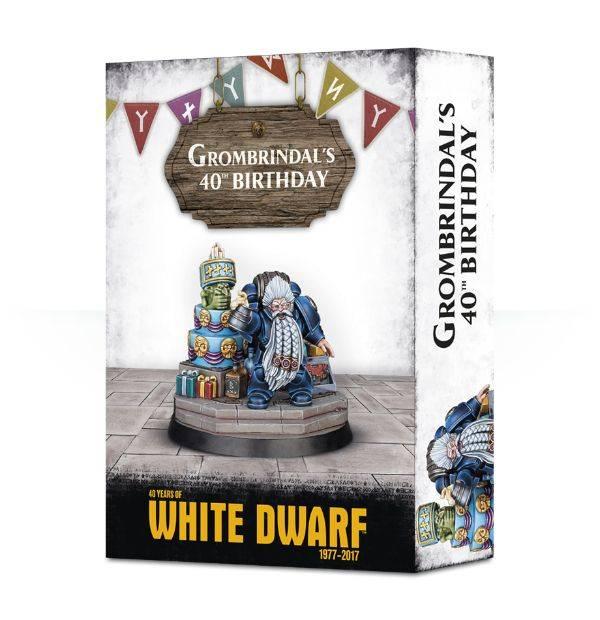 Games Workshop Grombrindal's 40th Birthday