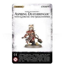 Games Workshop Aspiring Deathbringer with Goreaxe and Skullhammer