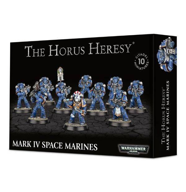 Games Workshop Mark IV Space Marines