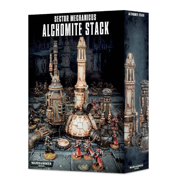 Games Workshop Sector Mechanicus Alchomite Stack