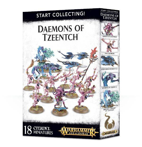 Games Workshop Start Collecting! Daemons of Tzeentch