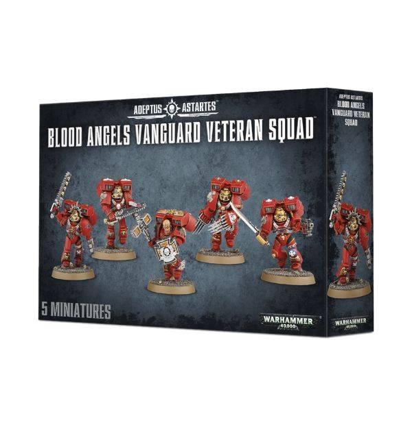 Games Workshop Blood Angels Vanguard Veteran Squad