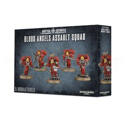 Games Workshop Blood Angels Assault Squad