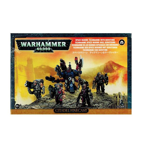 Games Workshop Techmarine with Servitors