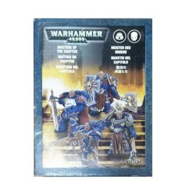 Games Workshop Space Marine Masters of the Chapter