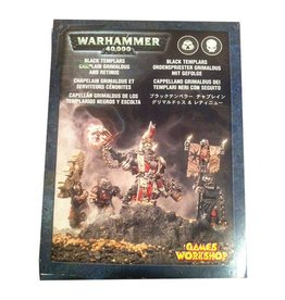 Games Workshop Chaplain Grimaldus & Retinue