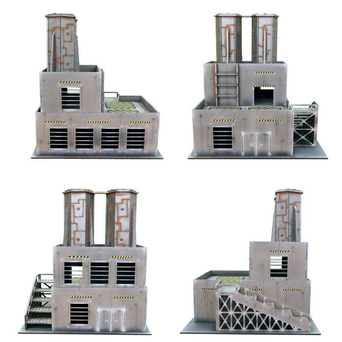 ITC Terrain Series: Industrial Factory