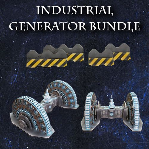 ITC Terrain Series: Industrial Generator Bundle