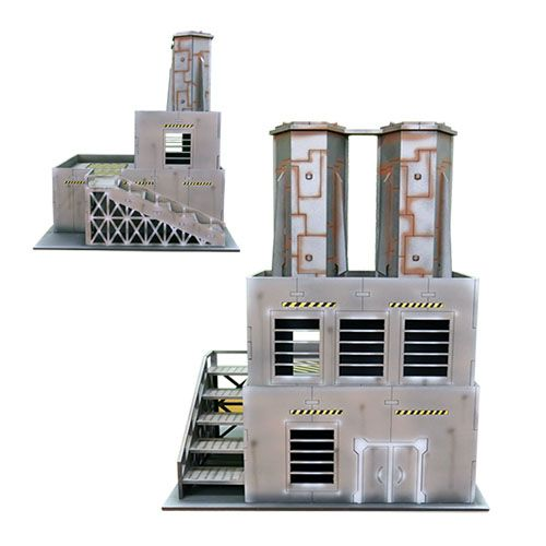 ITC Terrain Series: ITC Standard Industrial Set With Mat