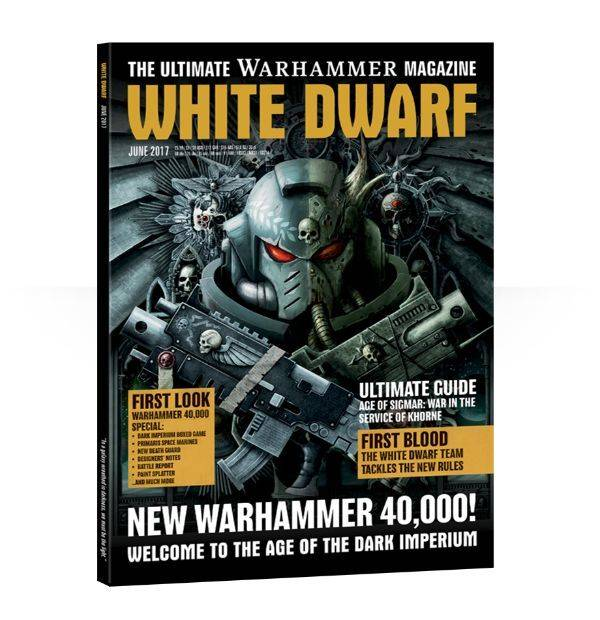 Games Workshop White Dwarf June 2017