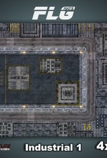 Frontline Gaming FLG Mats: Industrial 1 4x4'