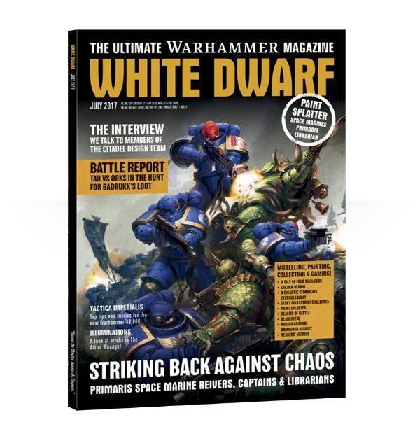 Games Workshop White Dwarf July 2017