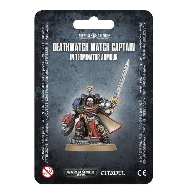 Games Workshop Deathwatch Terminator Captain