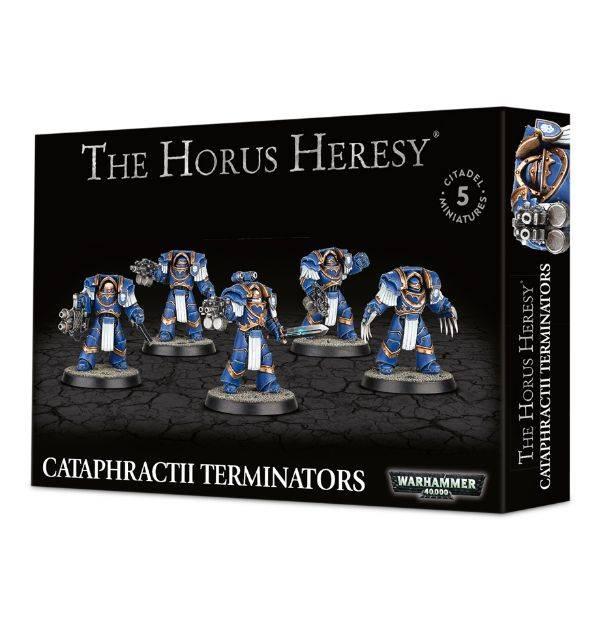Games Workshop Cataphractii Terminators