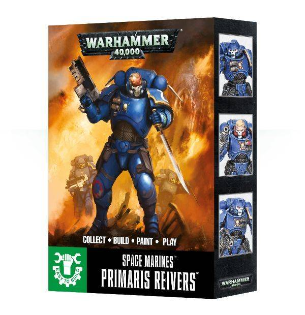 Games Workshop Easy to Build Primaris Reivers
