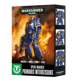 Games Workshop Space Marine Primaris Intercessors (Easy to Build)