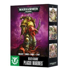 Games Workshop Death Guard Plague Marines Easy to Build